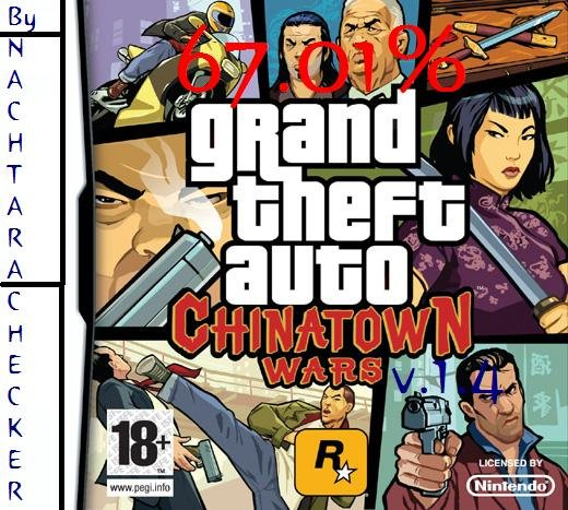 Thumbnail 1 for Grand theft Auto Chinatown Wars (E)[The Best Savegame] [67.01%] [v.1.4
